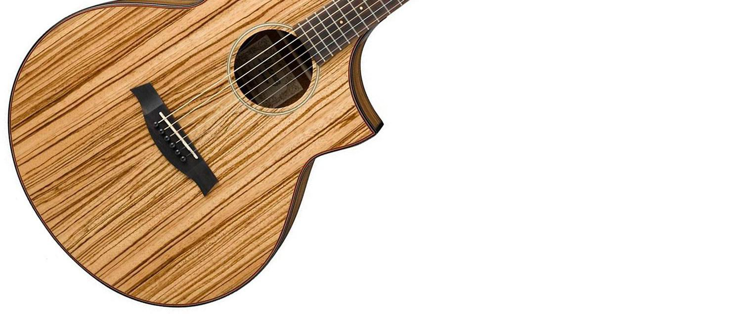 Ibanez Aew40zwnt Exotic Wood Acoustic Electric Natural