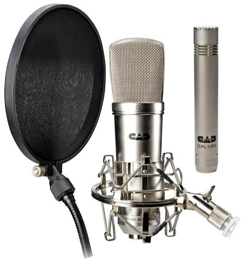 Cad Gxl 2200 Studio Package With Mic Gxl 1200 Shock