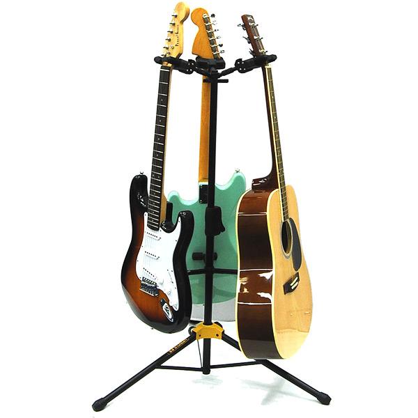 hercules gs432b triple guitar stand. Black Bedroom Furniture Sets. Home Design Ideas