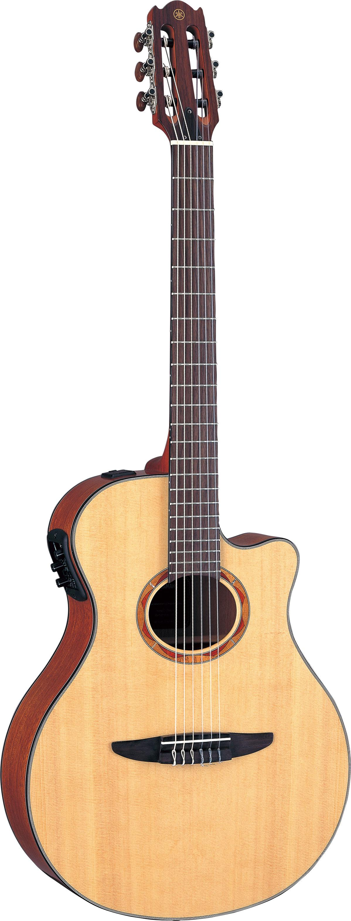 yamaha ntx700 thin line cutaway acoustic electric w case. Black Bedroom Furniture Sets. Home Design Ideas