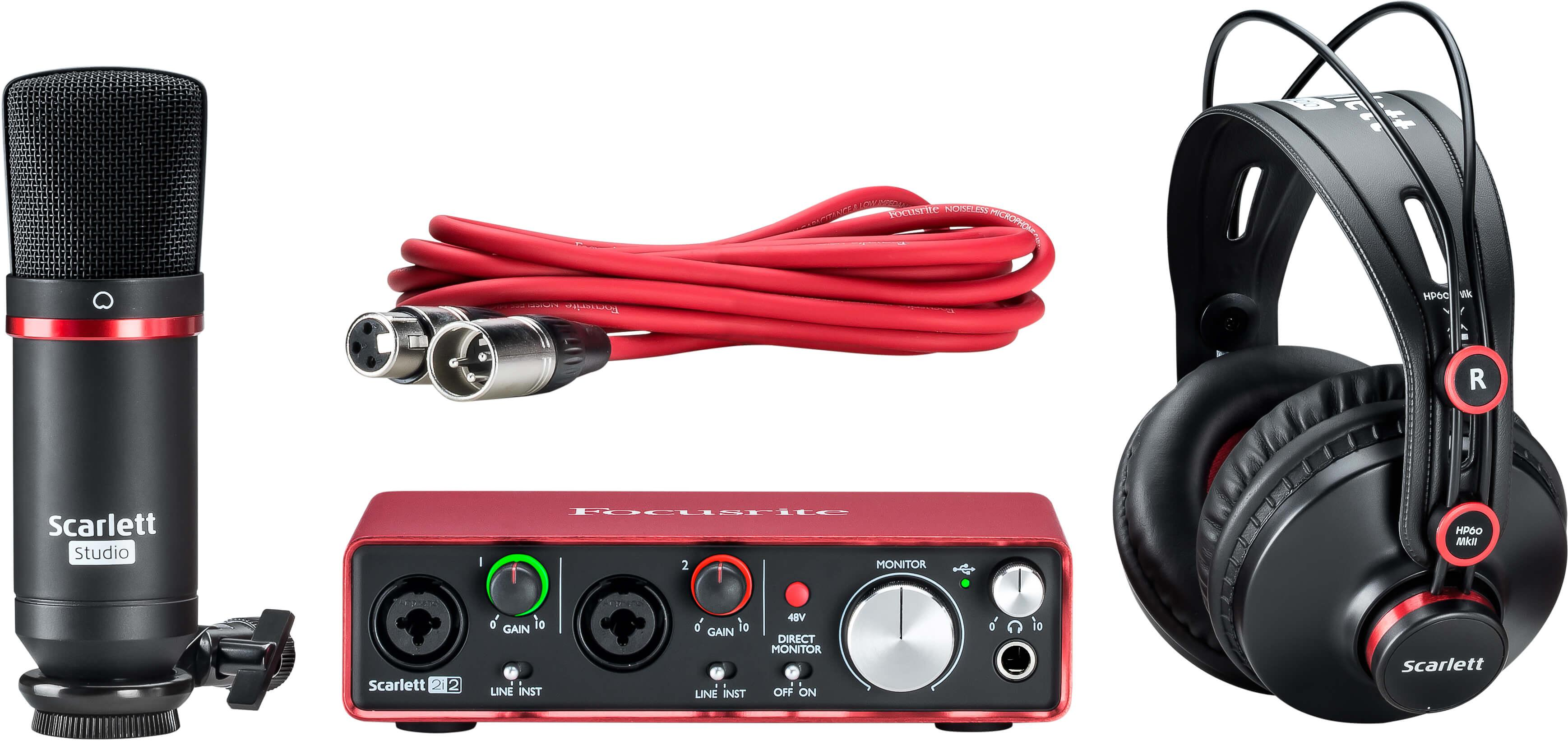 Focusrite AMS-SCARLETT-STUDIO-2ND-G