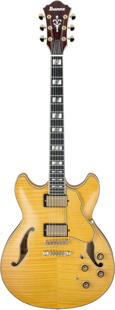 ibanez af155aa artstar hollow body electric guitar antique amber. Black Bedroom Furniture Sets. Home Design Ideas