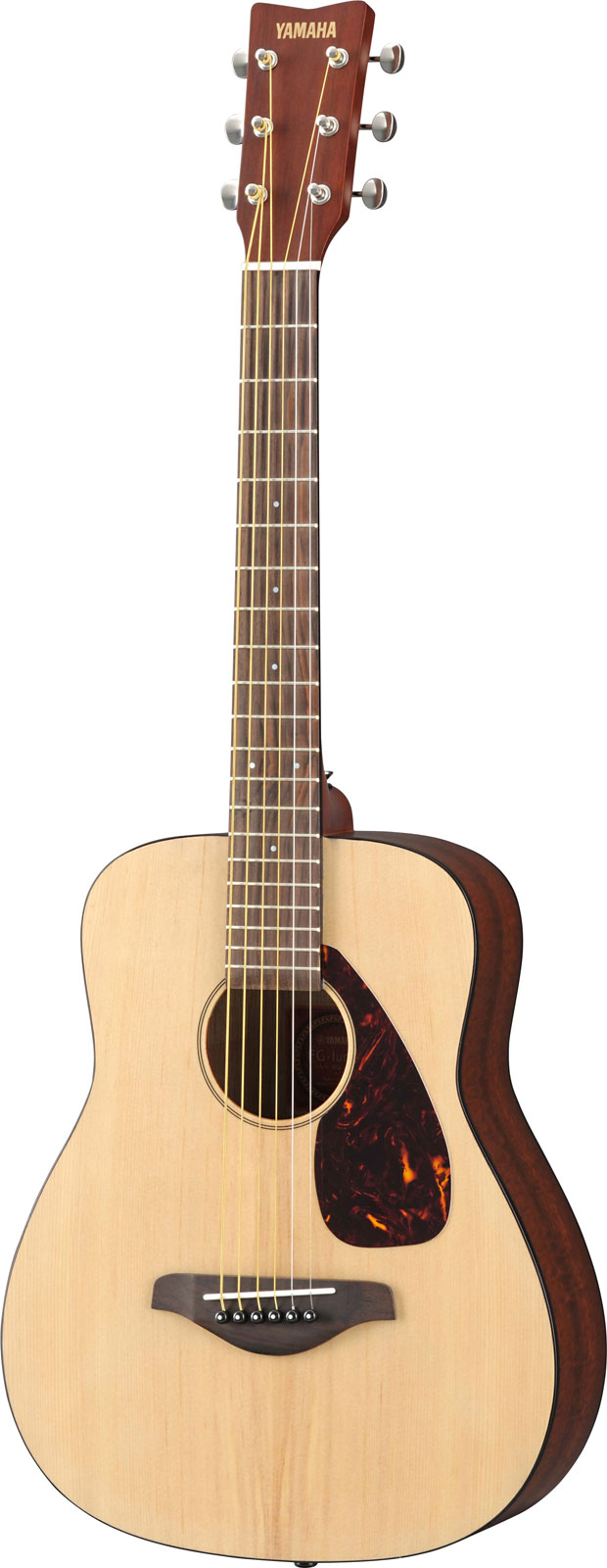 yamaha jr2 3 4 size acoustic guitar gloss with gig bag