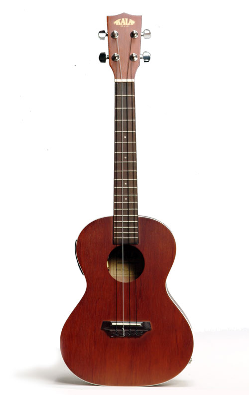 kala kate acoustic electric tenor ukulele mahogany. Black Bedroom Furniture Sets. Home Design Ideas