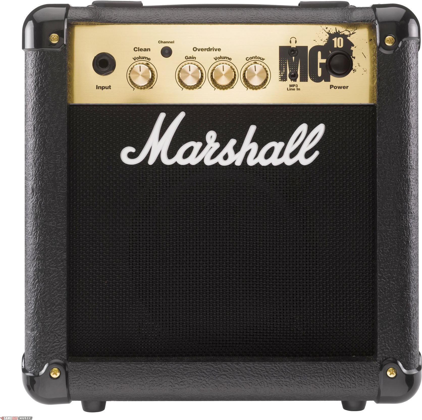 marshall mg10 10 watt combo guitar amp. Black Bedroom Furniture Sets. Home Design Ideas