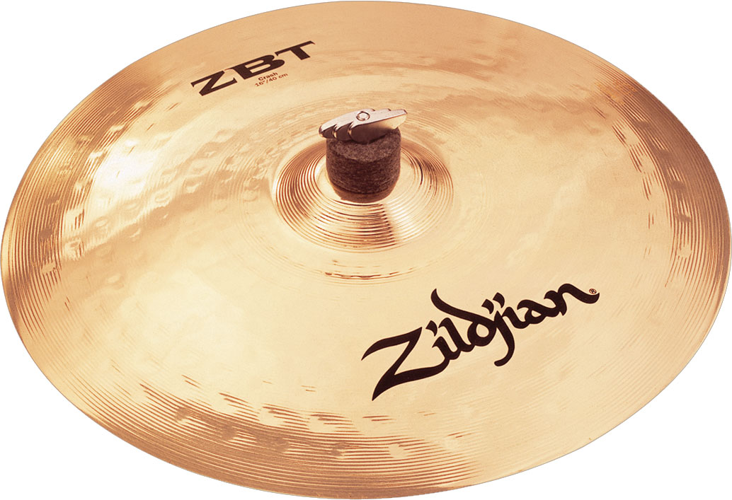 zildjian zbt16c 16 crash cymbal. Black Bedroom Furniture Sets. Home Design Ideas