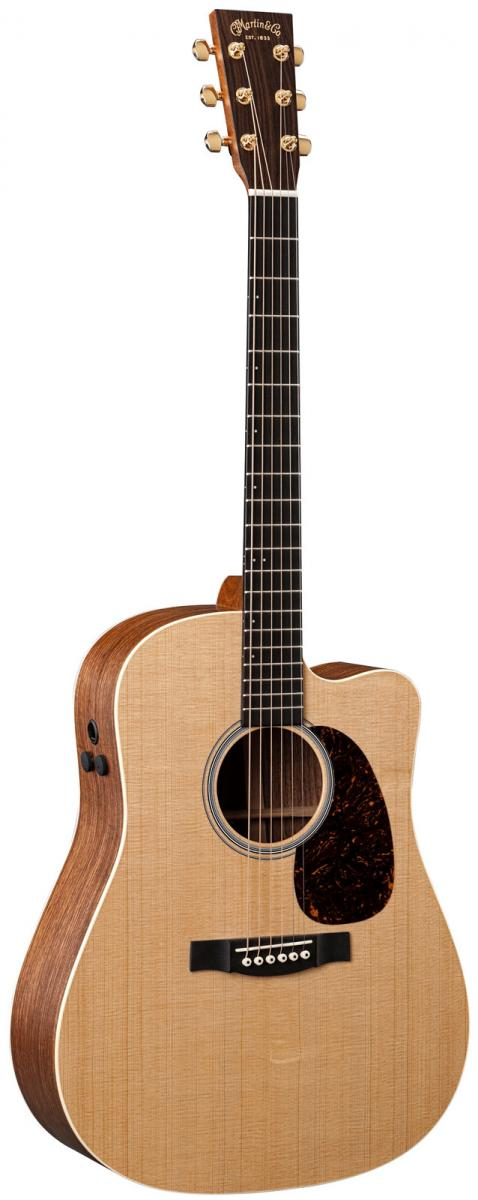 martin dcpa4 acoustic electric cutaway with hard case. Black Bedroom Furniture Sets. Home Design Ideas