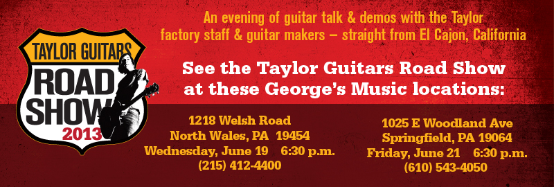Taylor Road Shows In PA!