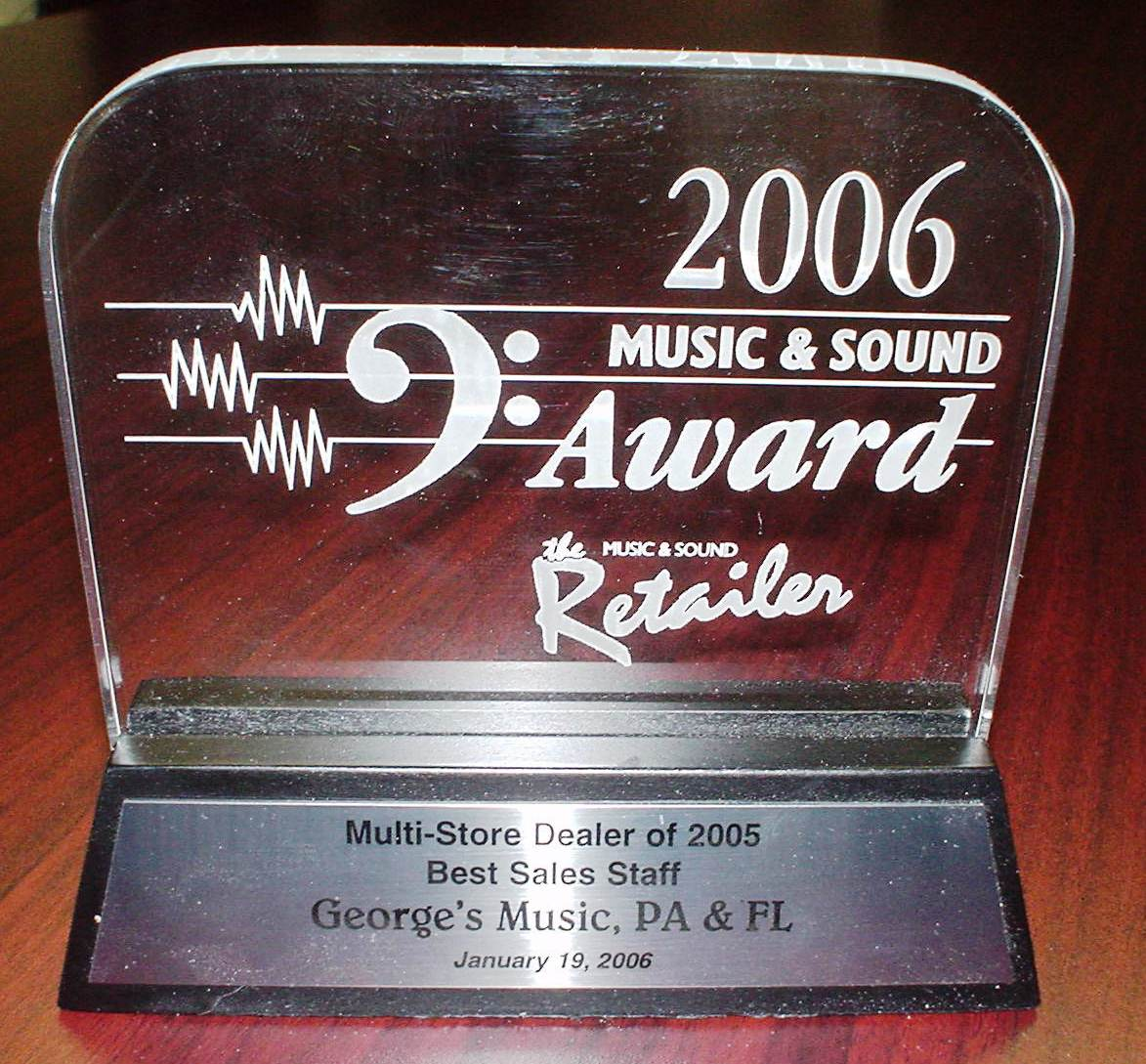 George's Music: About Us