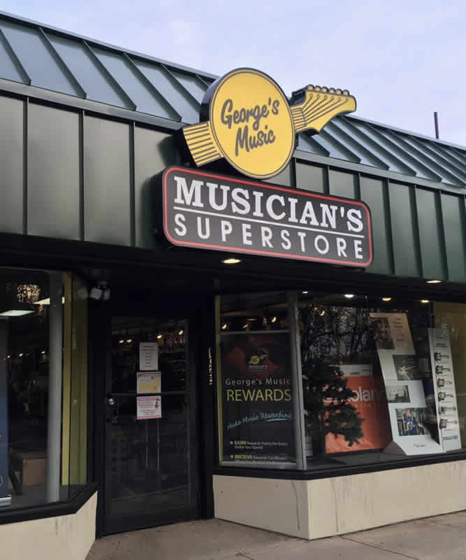 George's Music in Springfield, PA