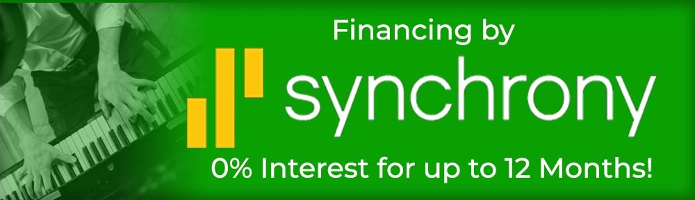 Synchrony financing at George's Music